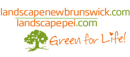 Landscape New Brunswick - Landscapeei.com, Green for Life Logo